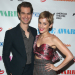 Andrew Garfield and Lucy Liu Walk a Star-Studded Red Carpet at the Obie Awards