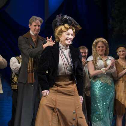 Sandy Duncan Takes Her First Broadway Bow in <em>Finding Neverland</em>