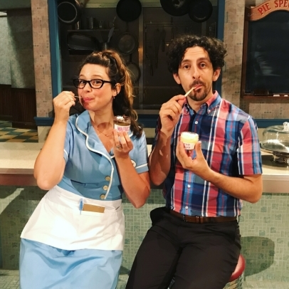 <em>Scandal's</em> Katie Lowes and Husband Adam Shapiro Realize Just How Dawn-and-Ogie They Are