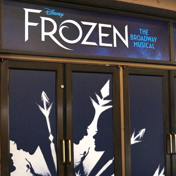 Disney's <em>Frozen</em> Takes Over the St. James Theatre