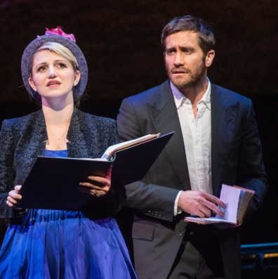Jake Gyllenhaal and Annaleigh Ashford Star in <em>Sunday in the Park With George</em>