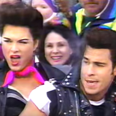 Flashback Friday: When <em>Grease</em>, Hula-Hoops, and Brooke Shields Dominated the Macy's Parade