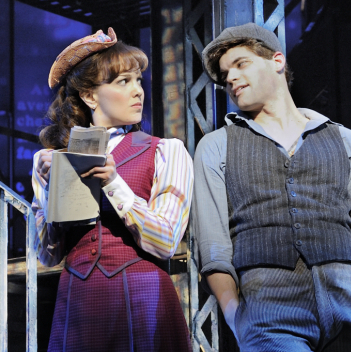 Jeremy Jordan and Kara Lindsay to Return to <em>Newsies</em> for Filming