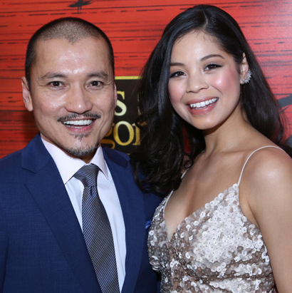 Final Bow: Miss Saigon's Eva Noblezada and Jon Jon Briones Have One Wish