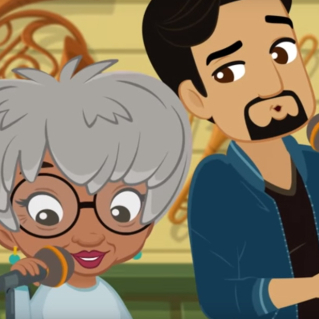 Watch Animated Versions of Lin-Manuel Miranda and Rita Moreno in <em>Nina's World</em>