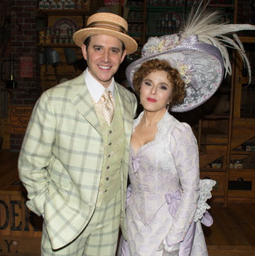See First Images of Santino Fontana as Cornelius Hackl in Hello, Dolly!