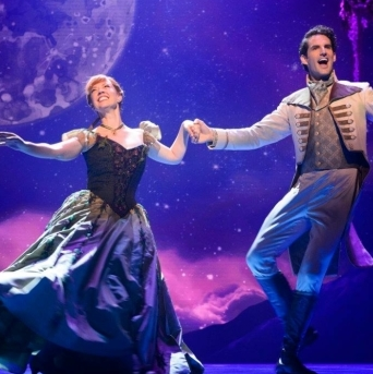 <em>Frozen</em>, With Caissie Levy and Patti Murin, Comes to Life Before Its Broadway Run