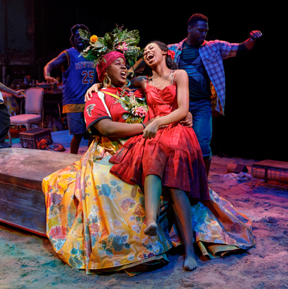 <em>Once on This Island</em> Celebrates Successful First Week on Broadway