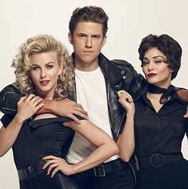 The Ones We Want! Aaron Tveit, Julianne Hough, and Vanessa Hudgens Get Ready for <em>Grease</em>