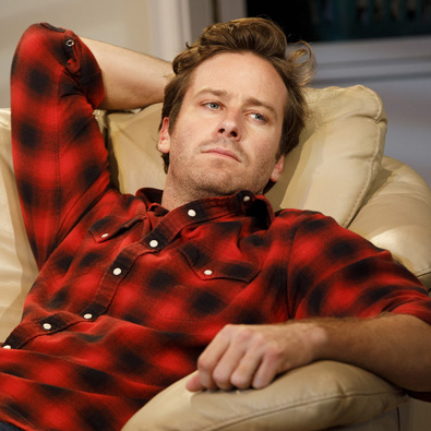 Check Out Armie Hammer and Josh Charles in Straight White Men