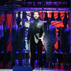 First Look at Raúl Esparza, Ramin Karimloo, Ruthie Ann Miles, and Stars of <em>Chess</em>