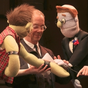 Joel Grey Helps <em>Avenue Q</em>'s Rod and Ricky Renew Their Wedding Vows
