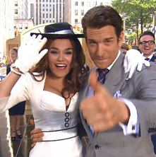Watch Pretty Woman's Samantha Barks and Andy Karl on NBC's Today Show