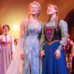 Broadway's Frozen Releases New Photos Ahead of Opening Night