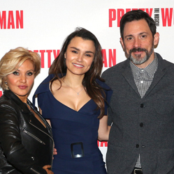Samantha Barks and Company of Pretty Woman Meet the Press