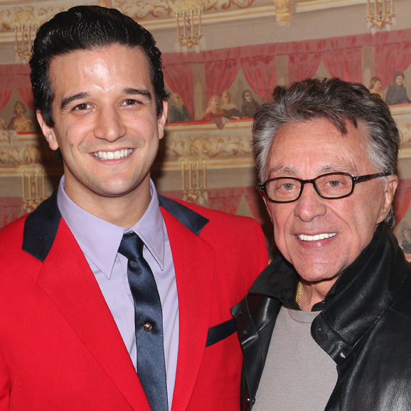 Frankie Valli Meets Mark Ballas and Broadway Cast of <em>Jersey Boys</em>