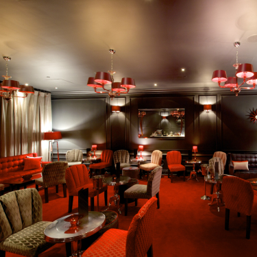 This Secret Lounge Under Broadway's Lyric Theatre Is an Intermission Game-Changer