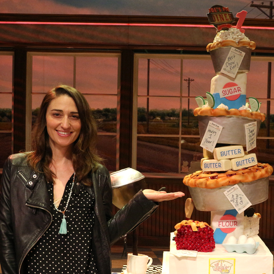 Sara Bareilles and <em>Waitress</em> Cast Celebrate First Anniversary on Broadway