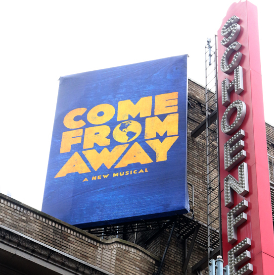 <em>Come From Away</em> Gets Its Broadway Marquee