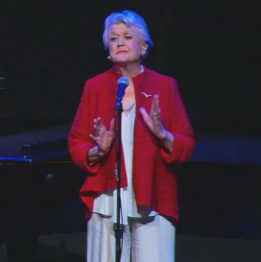 "Angela Lansbury Sings ""Beauty and the Beast"" as Mrs. Potts for 25th Anniversary"
