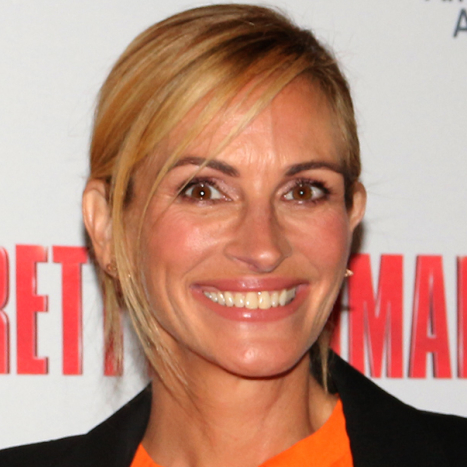 Julia Roberts Attends Broadway's Pretty Woman
