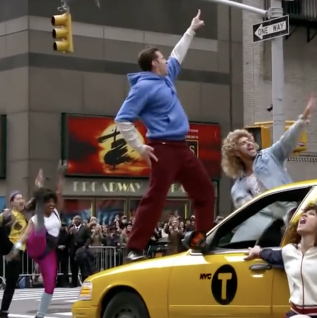 Hugh Jackman and Zac Efron Prove They're Great Showmen in New Crosswalk the Musical