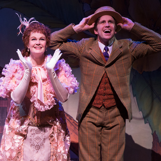 "Final Bow: Kate Baldwin and Gavin Creel Say ""So Long, Dearie"" to <em>Hello, Dolly!</em>"