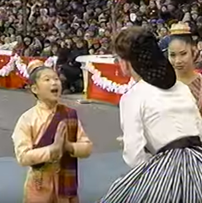 Flashback Friday: <em>Glee</em>'s Jenna Ushkowitz Was a Nine-Year-Old Princess of Siam