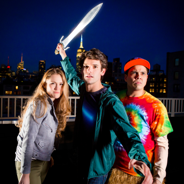 Take a Look at Electric Pics From The Lightning Thief: The Percy Jackson Musical