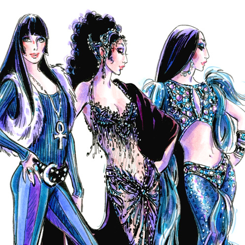 Longtime Cher Costumer Bob Mackie Will Create Costumes for <em>The Cher Show</em>
