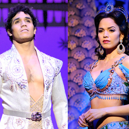 For Broadway Siblings Adam Jacobs and Arielle Jacobs, <em>Aladdin</em> Runs in the Family