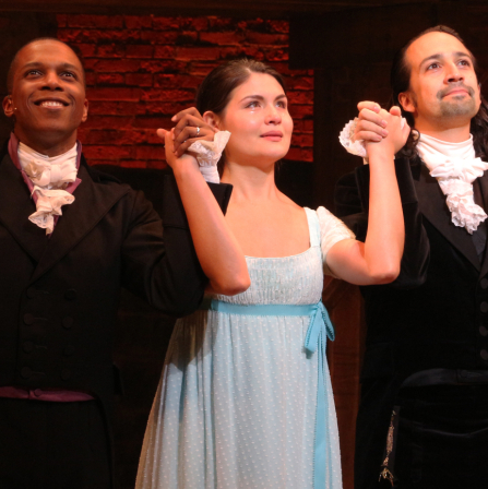 Lin-Manuel Miranda, Leslie Odom Jr., and Phillipa Soo Bid Tearful Farewell to <em>Hamilton</em>