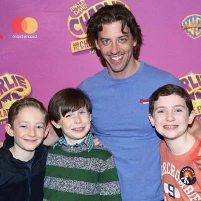 Christian Borle and the Stars of Charlie and the Chocolate Factory Kick Off Rehearsal