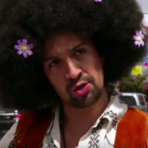 Lin-Manuel Miranda Performs <em>Hair</em> With James Corden's Crosswalk Ensemble
