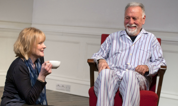<p> Claire Skinner Kenneth Cranham in <em>The Father</em></p><br />(c) Simon Annand