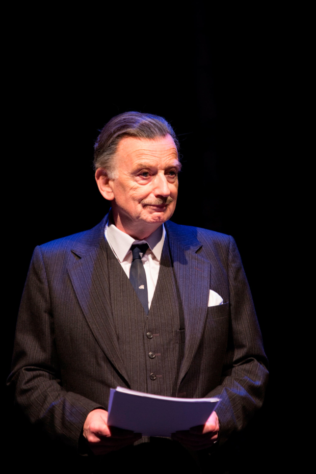 <p> Ian McDiarmid as Enoch Powell  in <em>What Shadows</em></p><br />© Ellie Kurttz