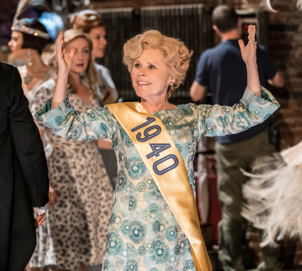 <p> Imelda Staunton as Sally Durant Plummer in <em>Follies</em> at the National Theatre</p><br />© Johan Persson
