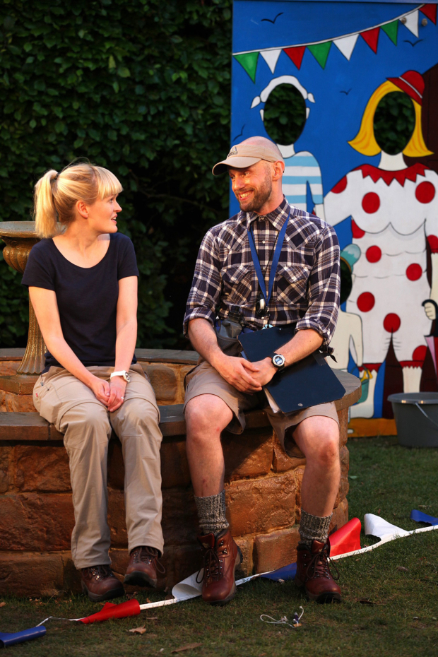 <p> L to R Sally Tatum and Gareth Kennerley in <em>House and Garden</em></p><br />© Philip Tull