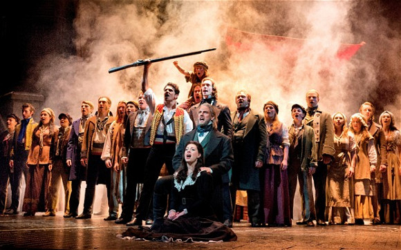 <p> Les Misérables at the Queen&#39&#x3B;s Theatre won the BBC Radio 2 Audience Award</p><br />© Deen van Meer
