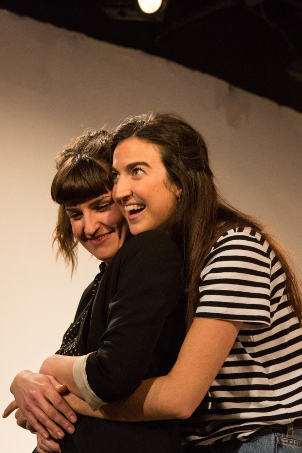 <p> Louise Beresford and Alexandra Reynolds in <em>Lobster</em></p><br />© Ali Wright