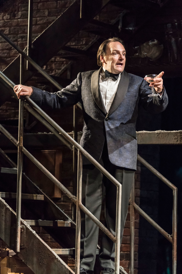 <p> Peter Forbes as Buddy Plummer in <em>Follies</em> at the National Theatre</p><br />© Johan Persson