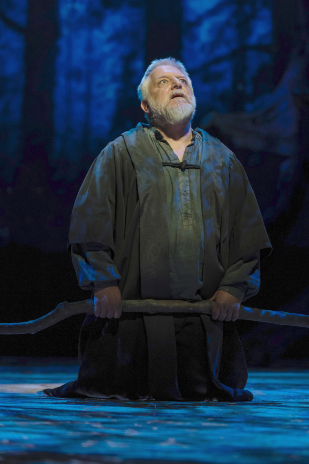 <p> Simon Russell Beale (Prospero) in <em>The Tempest</em></p><br />Topher McGrillis © RSC