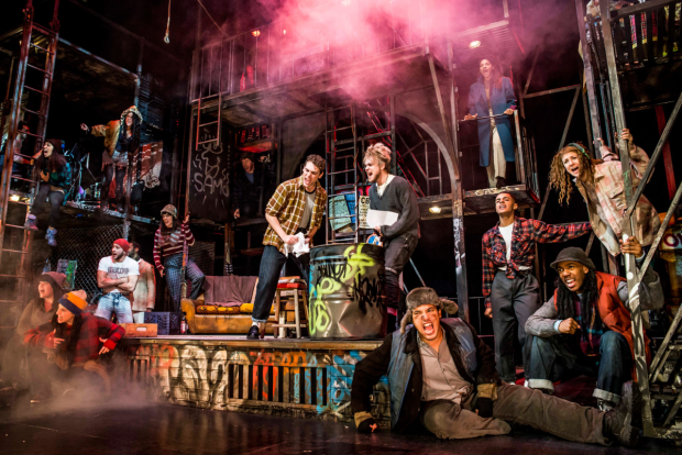 <p> The cast in the UK tour of <em>Rent</em></p><br />© Matt Crockett