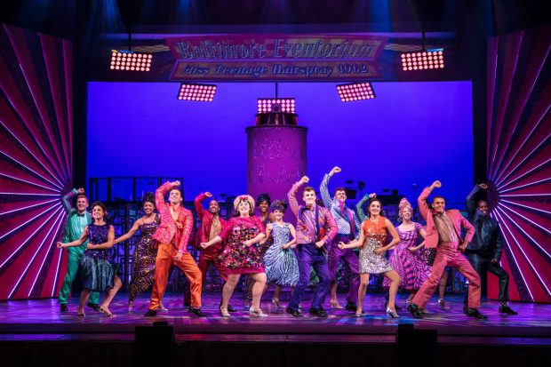 <p> The cast of <em>Hairspray</em></p><br />© Darren Bell