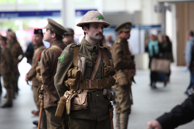 'WWI Soldiers' Appear Across UK In Somme Tribute