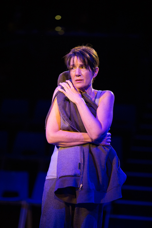 <p>Harriet Walter (Prospero) in The <em>Tempest</em></p><br />© Helen Maybanks