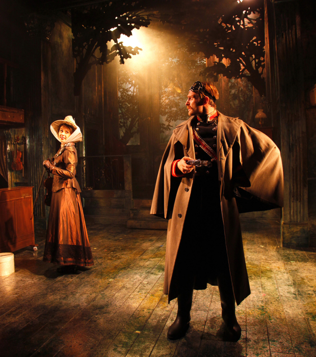 <p>Phoebe Fildes and Alex Hammond in <em>A Little Night Music</em></p><br />©  Philip Tull