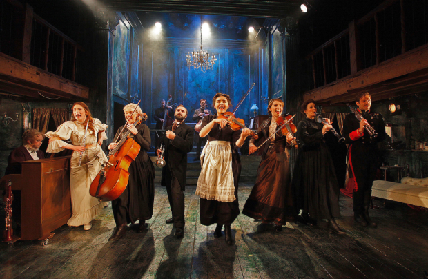 <p>The cast of <em>A Little Night Music</em></p><br />©  Philip Tull