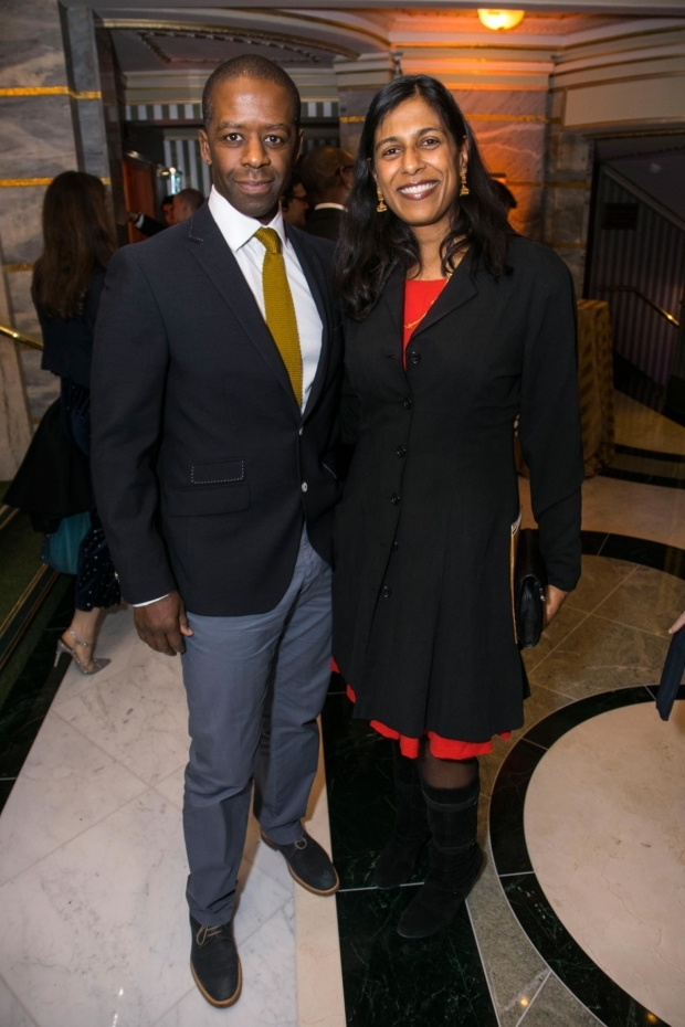 <p>Adrian Lester and Lolita Chakrabarti</p><br />© Dan Wooller for WhatsOnStage