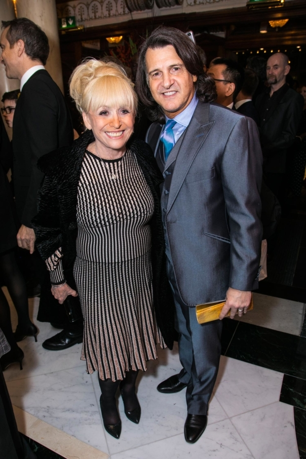 <p>Barbara Windsor and Scott Mitchell</p><br />© Dan Wooller for WhatsOnStage